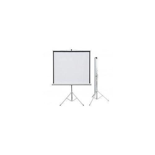 Ekran projekcyjny PROFI przenośny 124x124 (1:1)