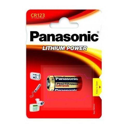 Bateria litowa Panasonic CR123A 1 szt.