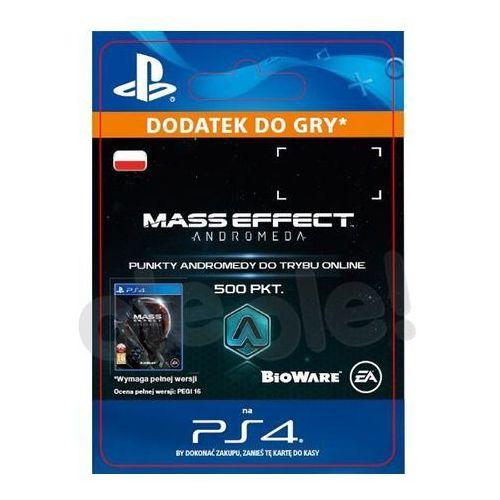 Mass effect andromeda 500 pkt [kod aktywacyjny] marki Sony