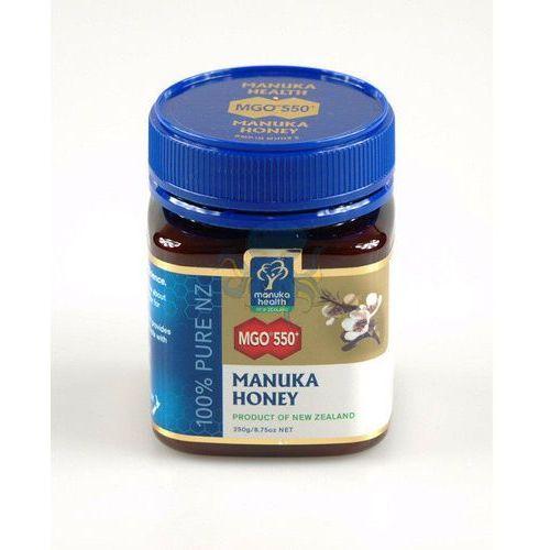Miód manuka mgo 550+ (250 g)  od producenta Manuka health