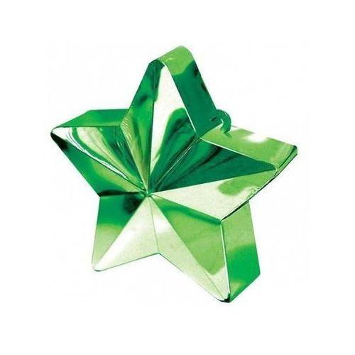 Obciążnik ciężarek do balonów napełnionych helem - Gwiazda zielona - 170 g. (0048419246800)