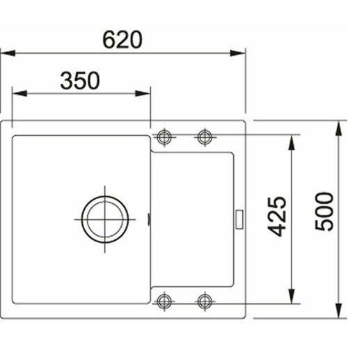 Franke Maris MRG 611-62 (czarny mat) (7612985932608)