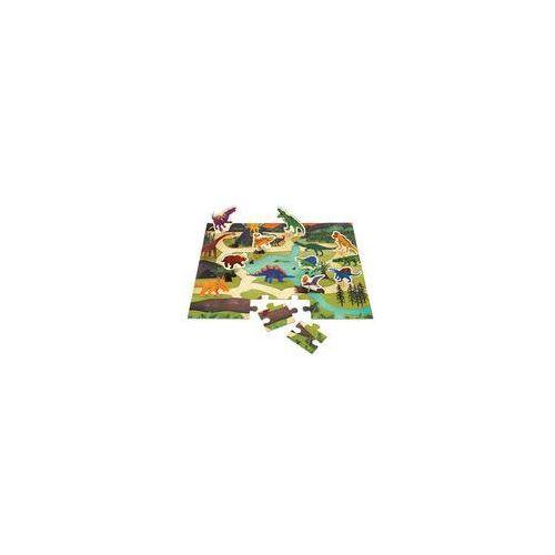 Puzzle zestaw z 8 figurkami (dinozaury) marki Mudpuppy