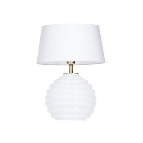 Lampa oprawa stołowa 4Concepts Anbibes White 1x60W E27 biały L216922501