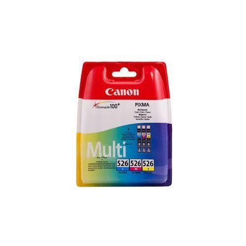 Canon 3 x tusz CMY 526CMY, CLI-526CMY, CLI526CMY, 4541B009