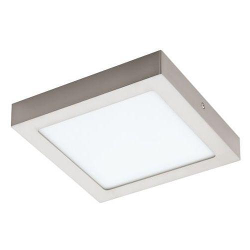 lampa sufitowa FUEVA 1 kwadratowa 22,5 cm - nikiel satynowy PROMOCJA!, EGLO 94526