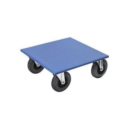 Wózek podmeblowy, dł. x szer. x wys. 600x600x250 mm, 2 - 4 szt. Ze sklejki bukow
