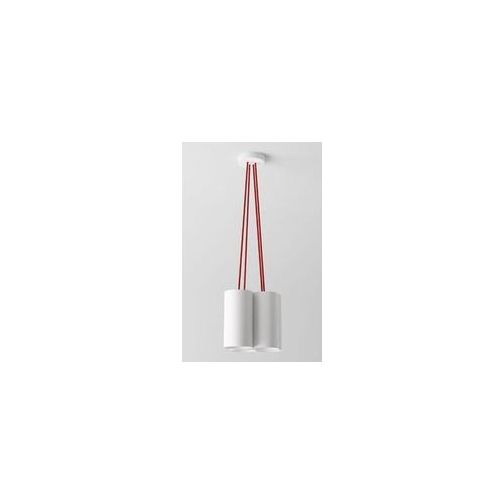 lampa wisząca CERTO A4C z niebieskimi przewodami, CLEONI 1291A4C+