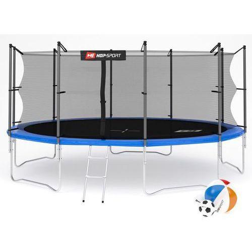 Trampolina 16ft (488cm) z siatką wewnętrzną Hop-Sport - 16ft (488cm)