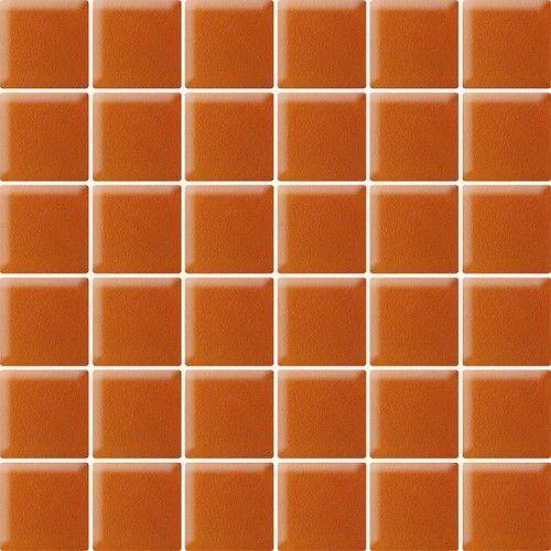 Mozaika szklana arancione (kostka 4,8 x 4,8) 29,8 x 29,8 marki Paradyż