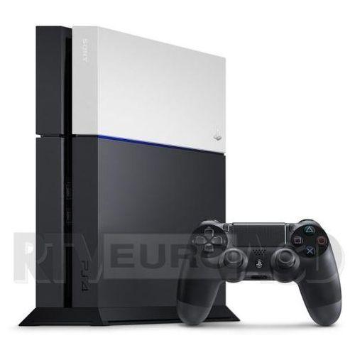 playstation 4 faceplate (srebrny) marki Sony