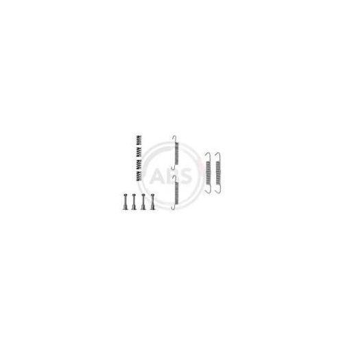 A.B.S. Zestaw akcesoriów, szczęki hamulcowe hamulca postojowego - 0621Q z kategorii szczęki hamulcowe