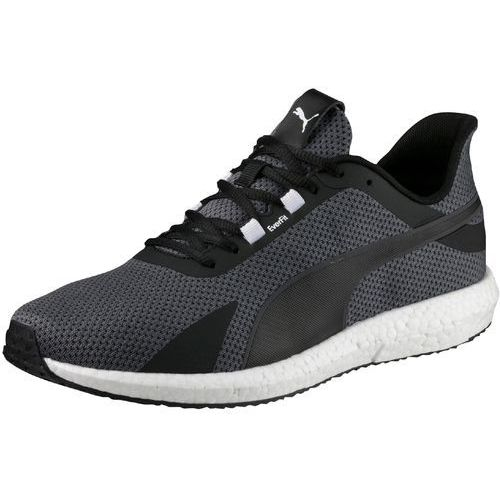Puma mega nrgy turbo obuwie do biegania treningowe black/shocking orange (4057828135434)