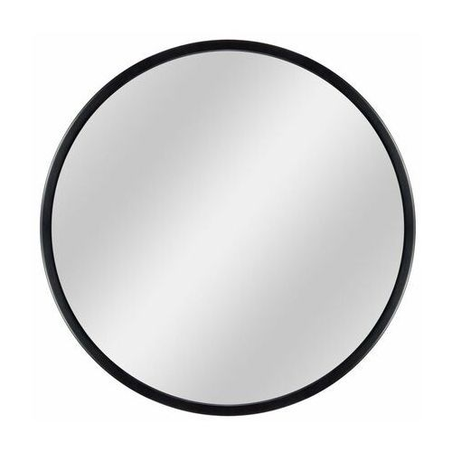 Dubiel vitrum Lustro okrągłe ring 2 70 cm w ramie czarne