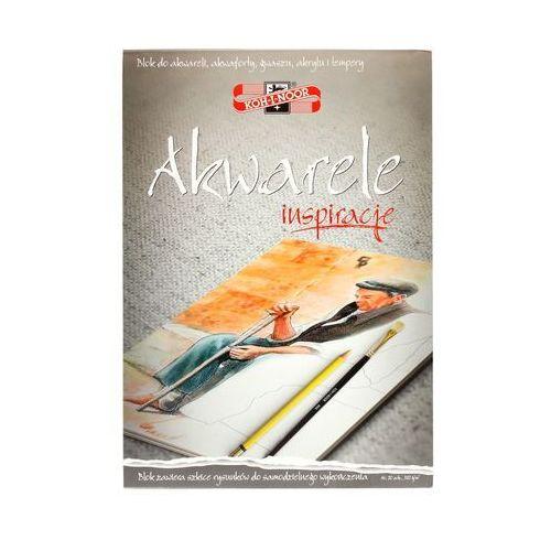 Koh i noor Blok akwarelowy a4/20 320g zadrukowany inspiracje - gotowe szablony