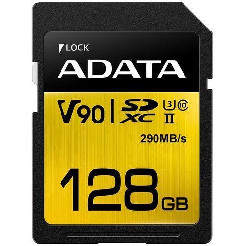 Adata SD Premier ONE 128G UHS 2/U3/CL10 290/260MB/s (4712366968721)