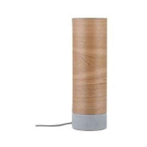 Oprawa stołowa neordic skadi 1-lampowa drewno / beton, 79664 marki Paulmann