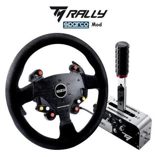 Thrustmaster zestaw tm rally race gear sparco mod kierownica + hamulec (3362934002046)