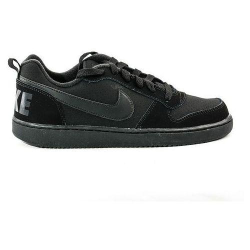 Buty  court borough low gs - 839985-001 - czarny marki Nike