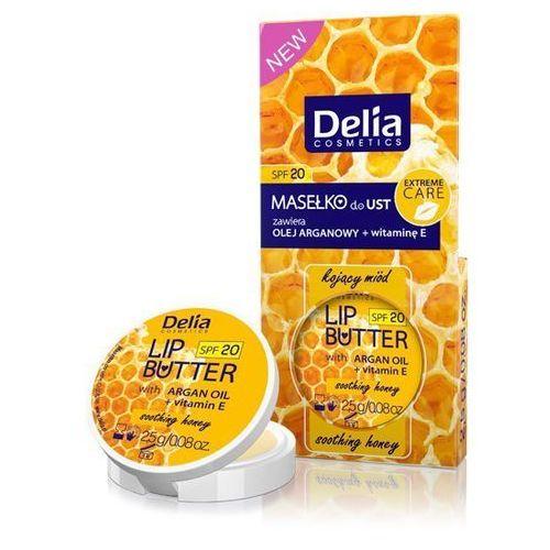 Delia cosmetics , lip butter. masełko do ust kojący miód, 2.5g - delia cosmetics. darmowa dostawa do kiosku ruchu od 24,99zł (5901350443170)