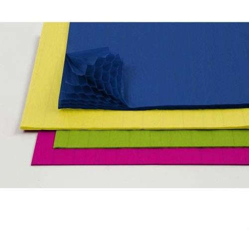 Papier o strukturze plastra miodu zestaw 8 szt. - 02