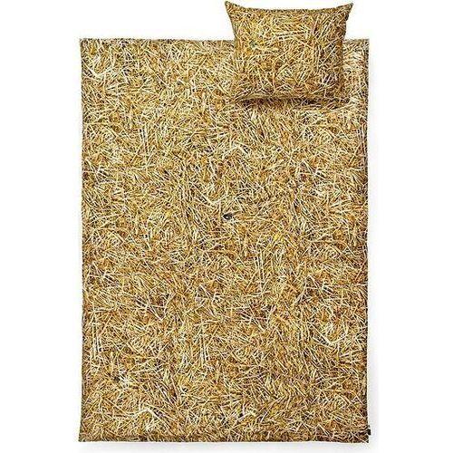 Foonka Pościel hayka słoma 140 x 200 cm pojedyncza