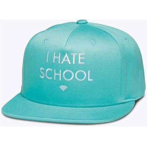 Czapka z daszkiem  - i hate school diamond blue (dblu) rozmiar: os marki Diamond