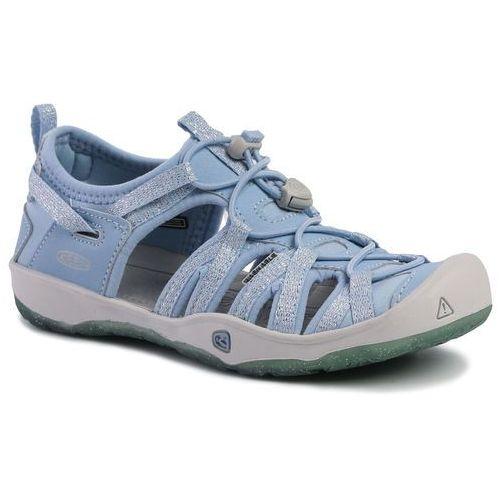 Keen Sandały - moxie sandal 1020590 powder blue/vapor