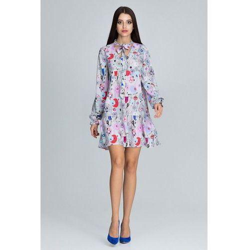 sukienka damska L/XL wielokolorowa, kolor wielokolorowy