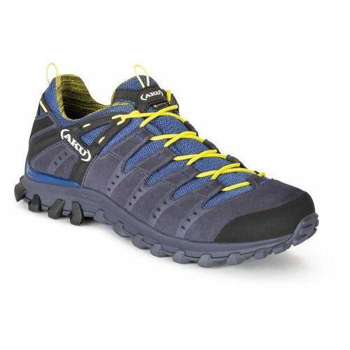 buty trekkingowe męskie alterra lite gtx (715129) 44,5 niebieskie, Aku