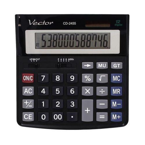 Vector Kalkulator 12pozycyjny cd2455. Najniższe ceny, najlepsze promocje w sklepach, opinie.