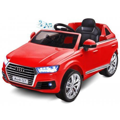 Samochód akumulatorowy Audi Q7 - Red, TOYZ-7087