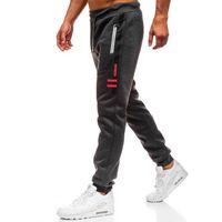 Red fireball Spodnie męskie dresowe joggery grafitowe denley 80530
