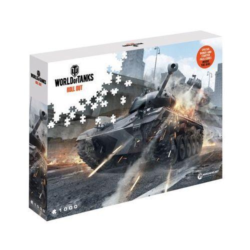 Puzzle world of tanks uważaj na siebie 1000 elementów. wargaming watch your back - merlin publishing darmowa dostawa kiosk ruchu marki Cdp.pl software