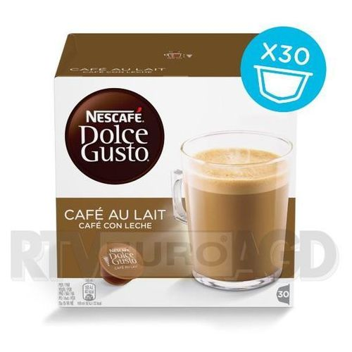 kawa cafeaulait 30 cap 300g marki Nescafe dolce gusto