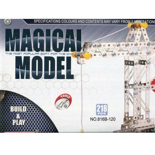 Magical model. Metalowy żuraw 218 części