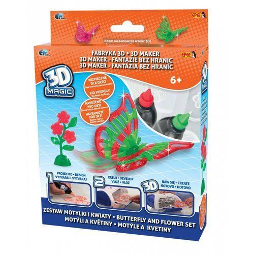 Fabryka 3D - Zestaw Motylki i Kwiaty - Epee (5902002970006)