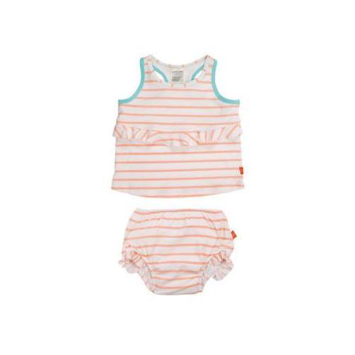 Lässig LÄssig girls splash & fun strój kąpielowy 2-częściowy orange (4042183351575)