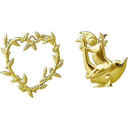 Rosendahl Dekoracje choinkowe karen blixen serce i chłopiec złote 2 szt. (5709513323426)
