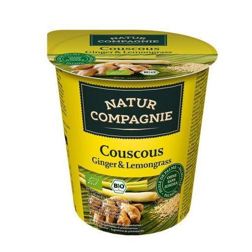 Natur compagnie (buliony, kostki rosołowe) Danie w kubku kuskus imbir z trawą cytrynową bio 68 g - natur compagnie (4048885045507)