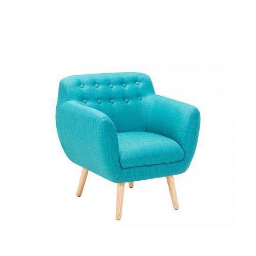 Fotel morski - fotel wypoczynkowy - do salonu - tapicerowany - Renata