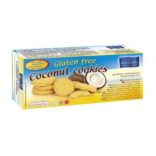 Bezgluten Kokoski-ciastka kokosowe 130g owe bezgluten