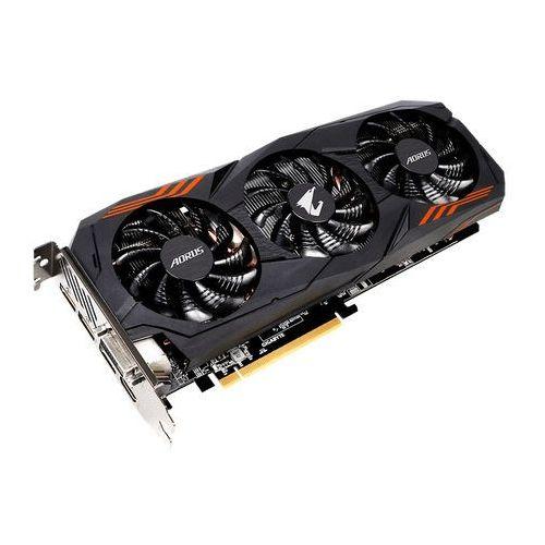 Karta graficzna Gigabyte GeForce GTX 1060 Aorus, 6GB GDDR5 (192 Bit), DVI-D, DP, HDMI, BOX (GV-N1060AORUS-6GD) Szybka dostawa! Darmowy odbiór w 20 miastach!, GV-N1060AORUS-6GD