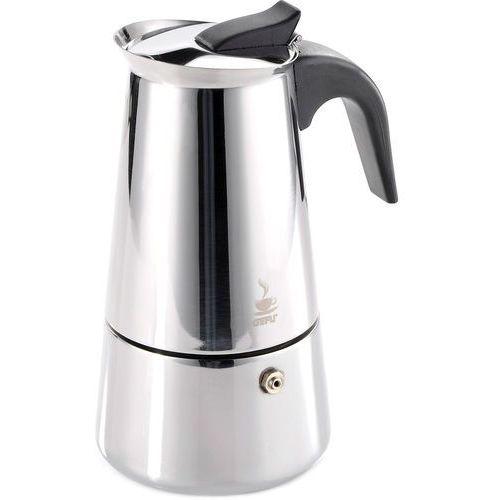 Mała kawiarka na dwie kawy espresso, stalowa Emilio Gefu 100 ml (G-16140) (4006664161404)