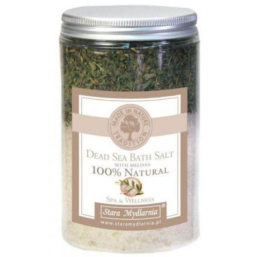 Stara mydlarnia Sól z morza martwego z melisą 400 ml