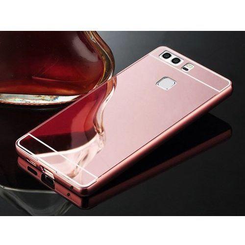 metal case różowy | etui dla huawei p9 - różowy, marki Mirror bumper