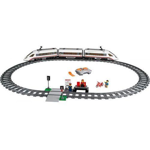 LEGO City 60051 Superszybki pociąg. Najniższe ceny, najlepsze promocje w sklepach, opinie.