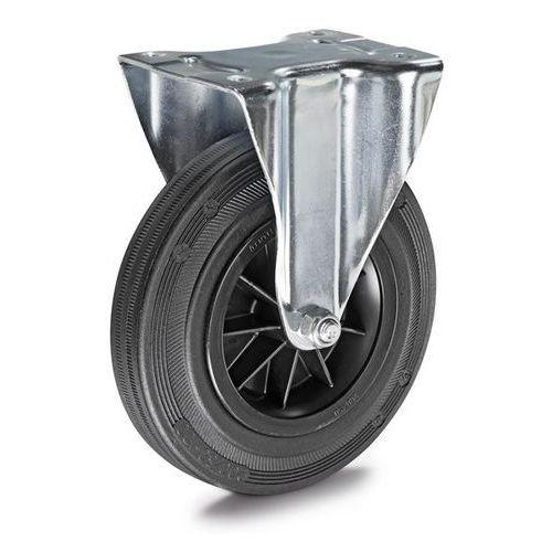 Ogumienie pełne na feldze z tworzywa, Ø x szer. kółka 200x50 mm, rolka wsporcza. marki Tente