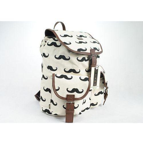 0a9579a5c92cd ... OKAZJA - Tara Polski plecak vintage mustache plecaki wąsy t16 - t16 ...