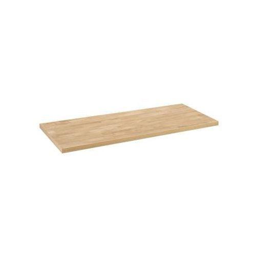 Blat łazienkowy prosty drewniany marki Delinia